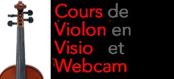 Cours de violon en visio et webcam